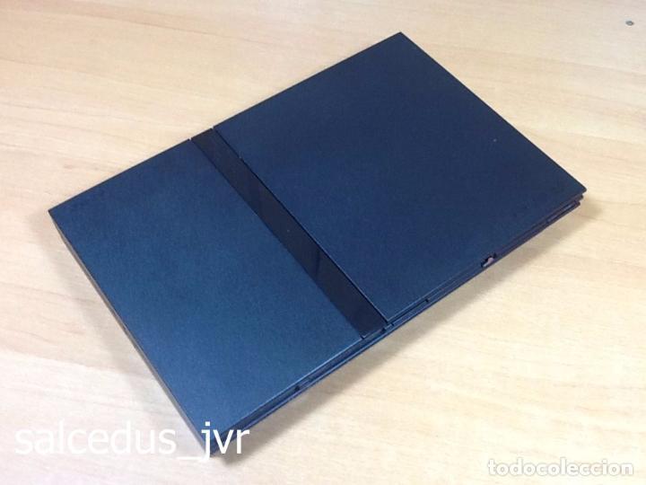 Videojuegos y Consolas: Lote Consola Sony PS2 PlayStation 2 Play Station PAL Slim + juego F1 05 Todo en Buen Estado - Foto 8 - 68268573