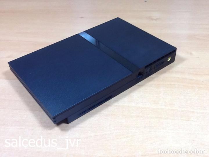Videojuegos y Consolas: Lote Consola Sony PS2 PlayStation 2 Play Station PAL Slim + juego F1 05 Todo en Buen Estado - Foto 9 - 68268573