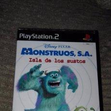 Videojuegos y Consolas: PLAY STATION 2 PS2 DISNEY PIXAR MONSTRUOS S.A. ISLA DE LOS SUSTOS EJEMPLAR PROMOCION RARO. Lote 73083243