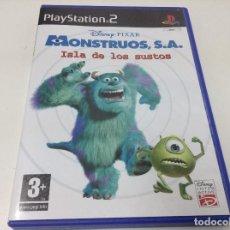 Videojuegos y Consolas: DISNEY/PIXAR, MONSTRUOS, S.A. ISLA DE LOS SUSTOS. Lote 71142377