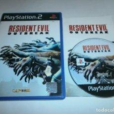 Videojuegos y Consolas: RESIDENT EVIL OUTBREAK PLAYSTATION 2 PAL ESPAÑA. Lote 144731654