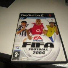 Videojuegos y Consolas: FIFA FOOTBALL 2004 MODO ONLINE INCLUIDO SOLO CARATULA. Lote 71874715