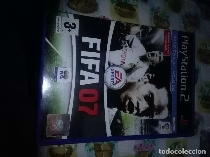 PLAY STATION 2. FIFA 07. (Juguetes - Videojuegos y Consolas - Sony - PS2)