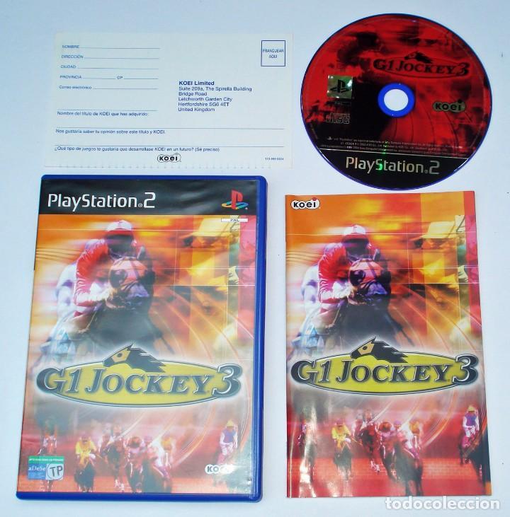 VIDEOJUEGO JUEGO SONY PS2 PLAYSTATION 2 - G1 JOCKEY 3 - PAL (Juguetes - Videojuegos y Consolas - Sony - PS2)