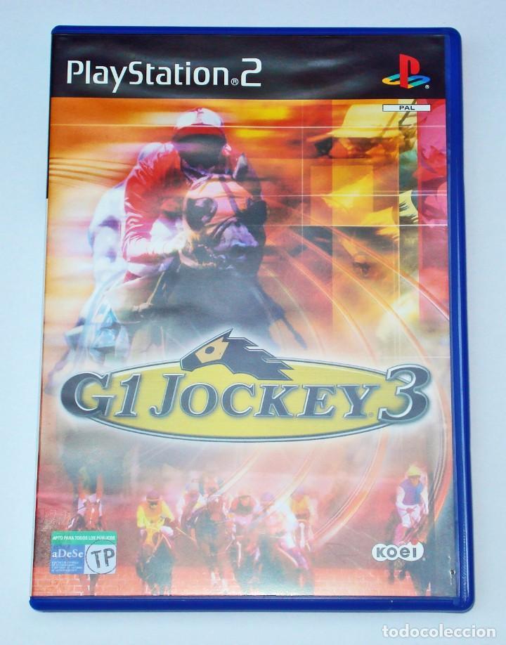 Videojuegos y Consolas: VIDEOJUEGO JUEGO SONY PS2 PLAYSTATION 2 - G1 JOCKEY 3 - PAL - Foto 2 - 73702095