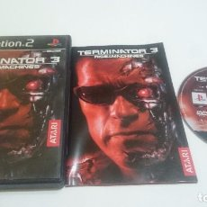 Videojuegos y Consolas: JUEGO COMPLETO TERMINATOR 3 RISE OF THE MACHINES PLAYSTATION 2 PS2 PAL ESPAÑA. Lote 74145803