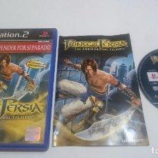 Videojuegos y Consolas: JUEGO PRINCE OF PERSIA LAS ARENAS DEL TIEMPO PLAYSTATION 2 PS2 PAL ESPAÑA. Lote 74146027