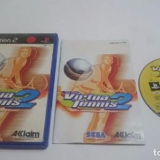 Videojuegos y Consolas: JUEGO VIRTUA TENNIS 2 TENIS SEGA PLAYSTATION 2 PS2 PAL ESPAÑA.. Lote 74152319