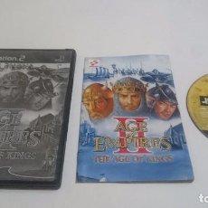Videojuegos y Consolas: JUEGO AGE OF EMPIRES II THE AGE OF KINGS PLAYSTATION 2 PS2 PAL ESPAÑA.. Lote 74152907