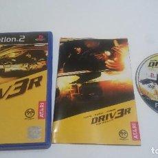 Videojuegos y Consolas: JUEGO DRIVER PLAYSTATION 2 PS2 PAL ESPAÑA.. Lote 74153663