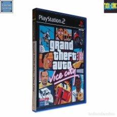 Videojuegos y Consolas: GRAND THEFT AUTO / VICE CITY / JUEGO PLAYSTATION 2 PLAY STATION PS2 / PAL / ROCKSTAR 2002. Lote 74609107