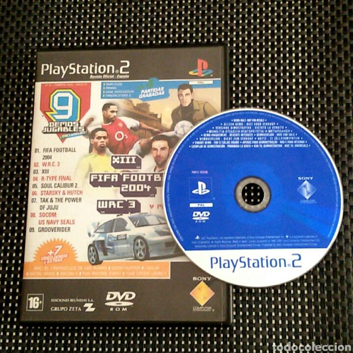 DVD ROM PS2 - DEMOS JUGABLES