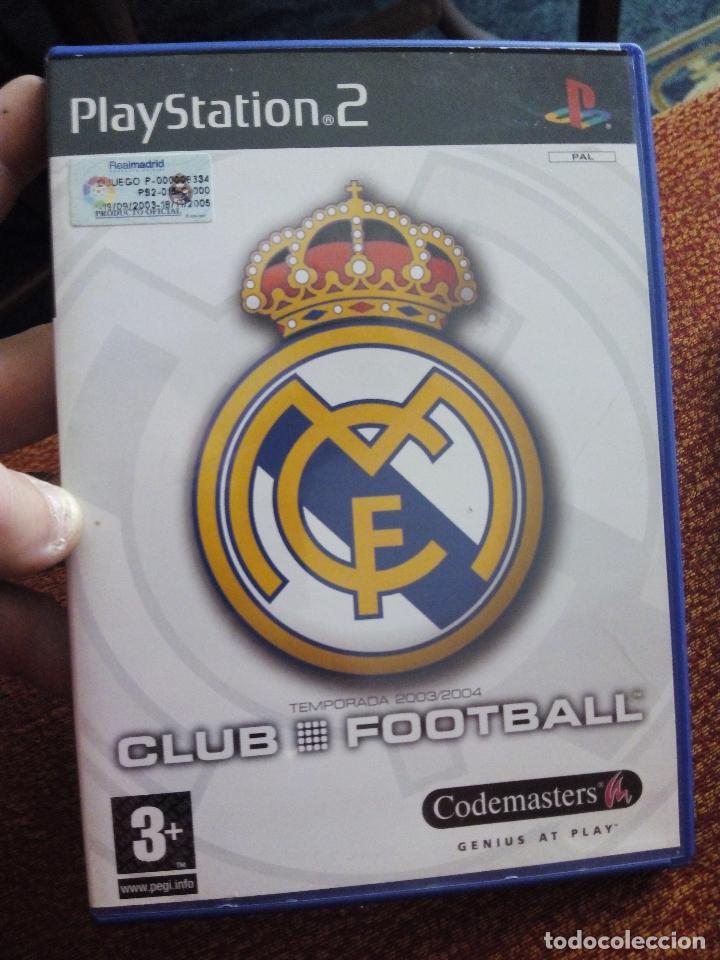 JUEGO PLAYSTATION 2 REAL MADRID PS2 (Juguetes - Videojuegos y Consolas - Sony - PS2)