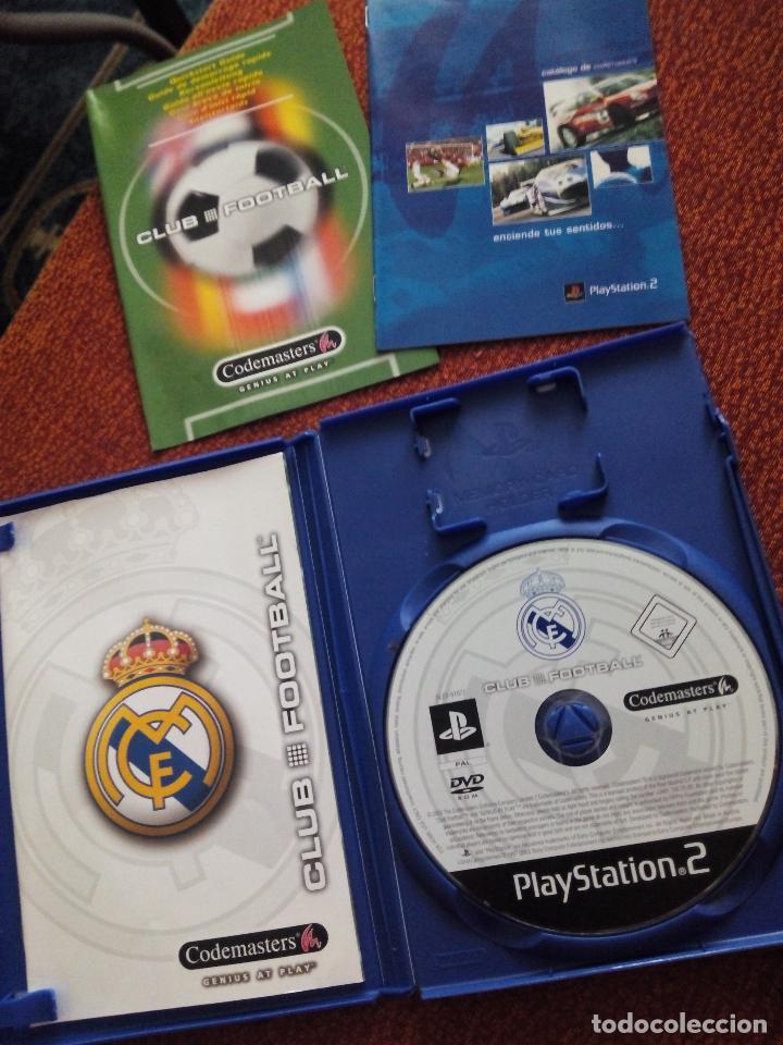 Videojuegos y Consolas: Juego PlayStation 2 Real Madrid PS2 - Foto 2 - 75068163