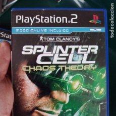 Videojuegos y Consolas: JUEGO PS2 SPLINTER CELL. Lote 75124683