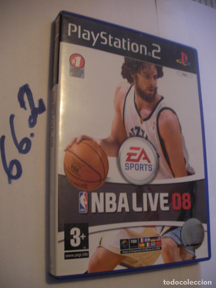 ANTIGUO JUEGO PLAYSTATION 2 - NBA LIVE 08 (Juguetes - Videojuegos y Consolas - Sony - PS2)