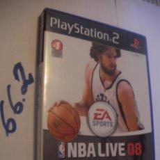 Videojuegos y Consolas: ANTIGUO JUEGO PLAYSTATION 2 - NBA LIVE 08. Lote 75834147