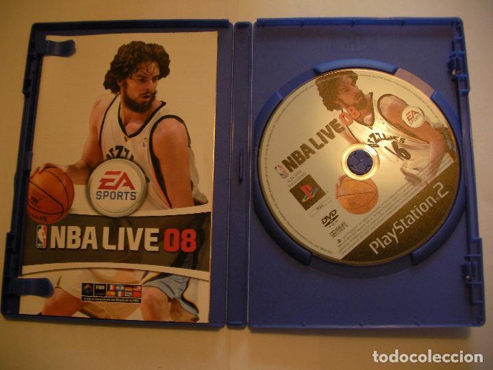 Videojuegos y Consolas: ANTIGUO JUEGO PLAYSTATION 2 - NBA LIVE 08 - Foto 2 - 75834147