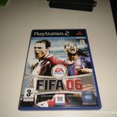 Videojuegos y Consolas: G-PPVP19 PLAYSTATION 2 FIFA 06. Lote 75868731