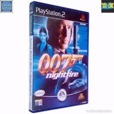 Videojuegos y Consolas: JAMES BOND 007 / NIGHTFIRE / JUEGO PLAYSTATION 2 PLAY STATION PS2 / PAL / ELECTRONIC ARTS 2002. Lote 76080779