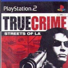 Videojuegos y Consolas: TRUECRIME *** JUEGO PLAYSTATION2 *** +16 *** AÑO 2003. Lote 76966097