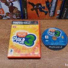 Videojuegos y Consolas: JUEGO SONY PLAYSTATION 2-EYE TOY PLAY 3-ED.ESPAÑOLA-PAL. Lote 77047833