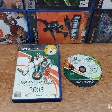 Videojuegos y Consolas: JUEGO SONY PLAYSTATION 2-PS2-ROLAND GARROS FRENCH OPEN 2003-ED.ESPAÑOLA-PAL. Lote 77095357