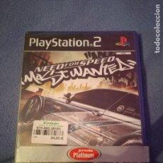 Videojuegos y Consolas: NEED FOR SPEED MOST WANTED PLAYSTATION PS2 PRECINTADO. Lote 77310809