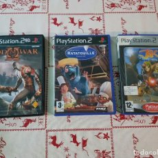Videojuegos y Consolas: JUEGOS DE PLAYSTATION 2 EN SUS CAJAS ORIGINALES. Lote 78190985