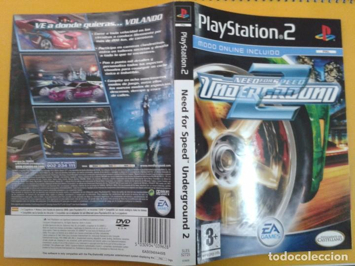 Need For Speed Underground 2 Caratula Sold Through Direct Sale
