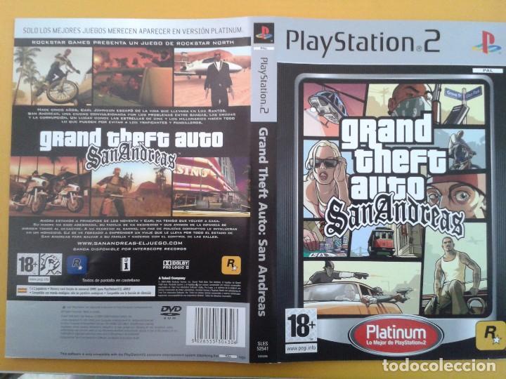 Gta San Andreas Caratula Comprar Videojuegos Y Consolas Ps2 En