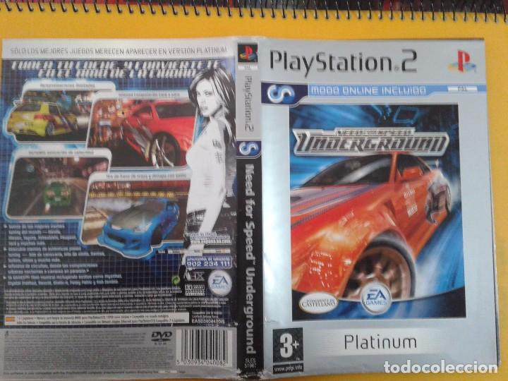 Need For Speed Underground Caratula Buy Video Games And