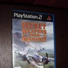 Videojuegos y Consolas: JUEGO SECRET WEAPONS OVER NORMANDY PS2 PLAYSTATION 2 2º GUERRA MUNDIAL. Lote 79961649