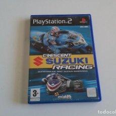 Videojuegos y Consolas: PS2 CRESCENT SUZUKI RACING. Lote 80296417