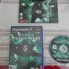 Videojuegos y Consolas: PS2 THE MATRIX PATH OF NEO PAL ESPAÑA PLAY STATION 2. Lote 80340545