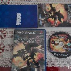 Videojuegos y Consolas: PS2 SHADOW THE HEDGEHOG PAL ESPAÑA PLAY STATION 2. Lote 80340725