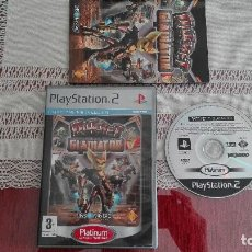 Videojuegos y Consolas: PS2 RATCHET GLADIATOR PAL ESPAÑA PLAY STATION 2. Lote 80340813