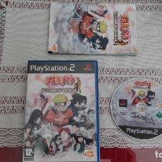 Videojuegos y Consolas: PS2 NARUTO ULTIMATE NINJA PAL ESPAÑA PLAYSTATION 2. Lote 80340973