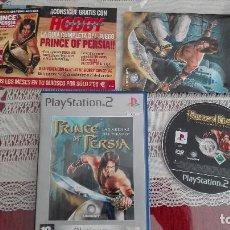 Videojuegos y Consolas: PS2 PRINCE OF PERSIA LAS ARENAS DEL TIEMPO PAL ESPAÑA PLAY STATION 2. Lote 80341041