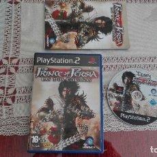 Videojuegos y Consolas: PS2 PRINCE OF PERSIA LAS DOS CORONAS PAL ESPAÑA PLAYSTATION 2. Lote 80341269