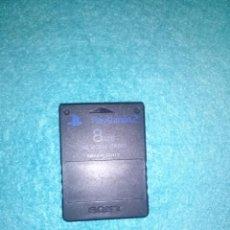 Videojuegos y Consolas: CARTUCHO, TARJETA DE MEMORIA - ORIGINAL - MEMORY CARD SONY PLAY STATION 2 PS2 8 MB. Lote 95743723