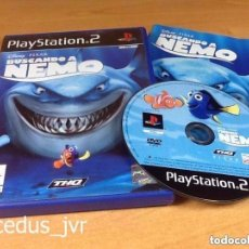 Videojuegos y Consolas: BUSCANDO A NEMO DISNEY PIXAR JUEGO PARA SONY PLAY STATION 2 PS2 PLAYSTATION PAL ESPAÑA COMPLETO. Lote 81058108