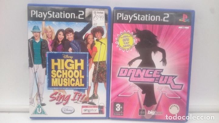 HIGH SCHOOL MUSICAL SING + DANCE UK SONY PLAYSTATION PS2 PAL.ENVIOS COMBINADOS (Juguetes - Videojuegos y Consolas - Sony - PS2)