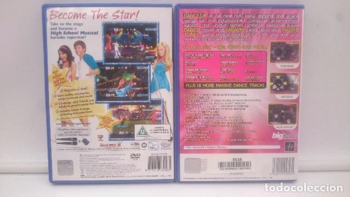 Videojuegos y Consolas: HIGH SCHOOL MUSICAL SING + DANCE UK SONY PLAYSTATION PS2 PAL.ENVIOS COMBINADOS - Foto 2 - 84391840