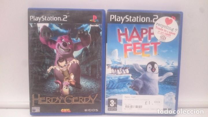 HERDY GERDY +HAPPY FEET SONY PLAYSTATION PS2 PAL.ENVIOS COMBINADOS (Juguetes - Videojuegos y Consolas - Sony - PS2)