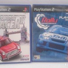 Videojuegos y Consolas: LONDON RACER 2 +RALLY CHAMPIONSHIP SONY PLAYSTATION PS2 PAL.ENVIOS COMBINADOS. Lote 84399704