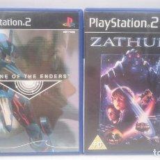 Videojuegos y Consolas: ZONE OF ENDERS + ZATHURA SONY PLAYSTATION PS2 PAL.ENVIOS COMBINADOS. Lote 84401384