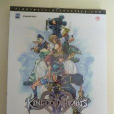 Videojogos e Consolas: KINGDOM HEARTS - LA GUIA OFICIAL EN ESPAÑOL - PRECINTADA. Lote 84578664