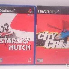 Videojuegos y Consolas: STARKY & HUTCH + CITY CRISIS SONY PLAYSTATION PS2 PAL.ENVIOS COMBINADOS. Lote 84688576