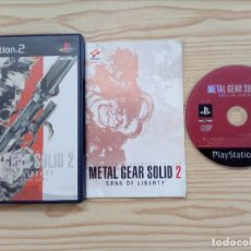 Videojuegos y Consolas: METAL GEAR SOLID 2 - SONS OF LIBERTY (DOS DISCOS) (PS2) (COMPLETO EN CASTELLANO). Lote 85344852